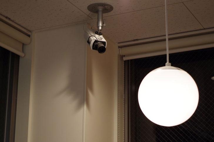 ブラック企業の監視カメラ