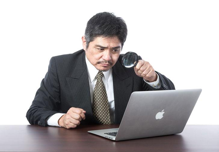ブラック企業の従業員PC監視